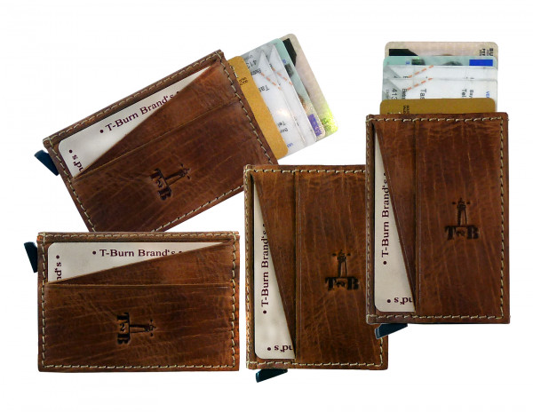 "Slim-Card - System ""CHEROKEE"" 25-natural brown"