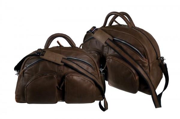 Sport,-Traveller *CASTER* 25-braun