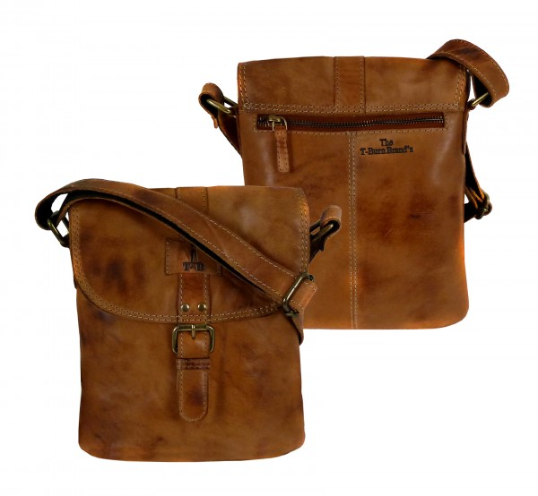 "Casual Flap Bag ""CHEROKEE"" 25-braun/brown"