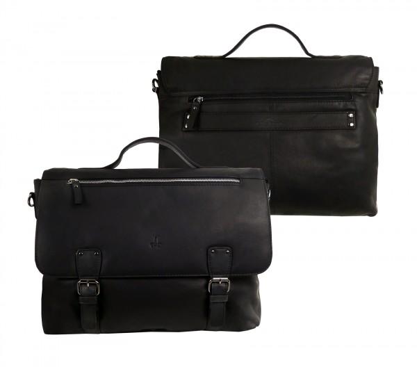 Briefcase/Mappe *CASTER* 20-schwarz / black