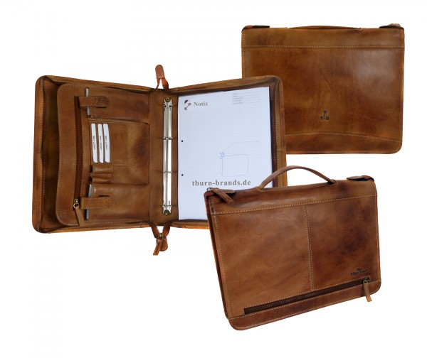 "Business Case ""CHEROKEE"" 25-braun/brown"