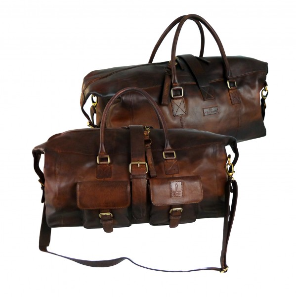 XXL-Traveller / Reisetasche *SHADOW* 25-braun/brown